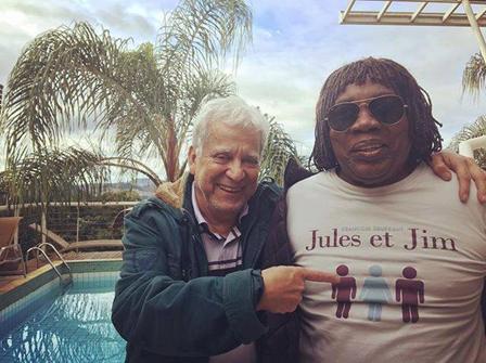"Mílton Nascimento, Márcio Borges e …""Jules & Jim"" de Truffaut ..."